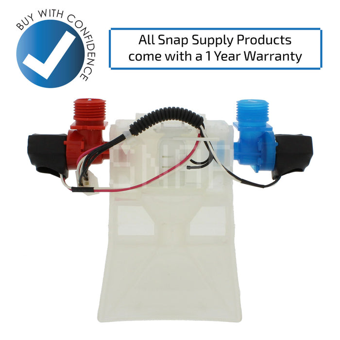 W10144820 Water Valve for Whirlpool - Snap Supply -Home Improvement [Product_Sku]
