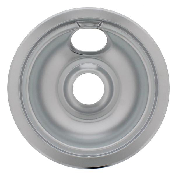 "W10196406RW 6"" Stove Top Drip Pan - Snap Supply -Oven Parts and Accessory [Product_Sku]"