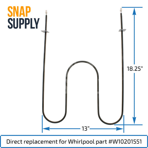 Broil Element for Whirlpool - Snap Supply -Element [Product_Sku]