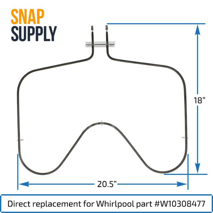 W10308477 Bake Element for Whirlpool - Snap Supply -Element [Product_Sku]