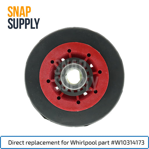 W10314173 Drum Support Roller for Whirlpool - Snap Supply -Dryer Parts and Accessory [Product_Sku]