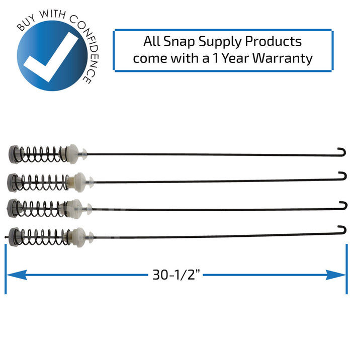 W10780048 Suspension Rod Kit - Snap Supply -Dryer Parts and Accessory [Product_Sku]