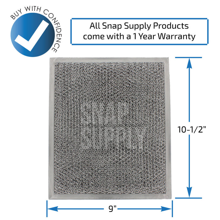 WB02X10700 Combination Filter for GE - Snap Supply -Oven Parts and Accessory [Product_Sku]