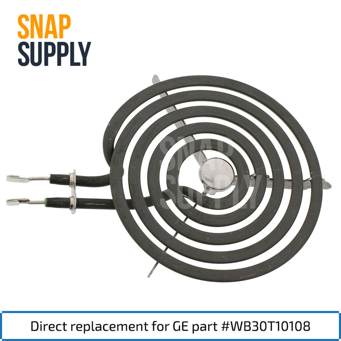"WB30T10108 6"" Surface Element for GE - Snap Supply -Element [Product_Sku]"