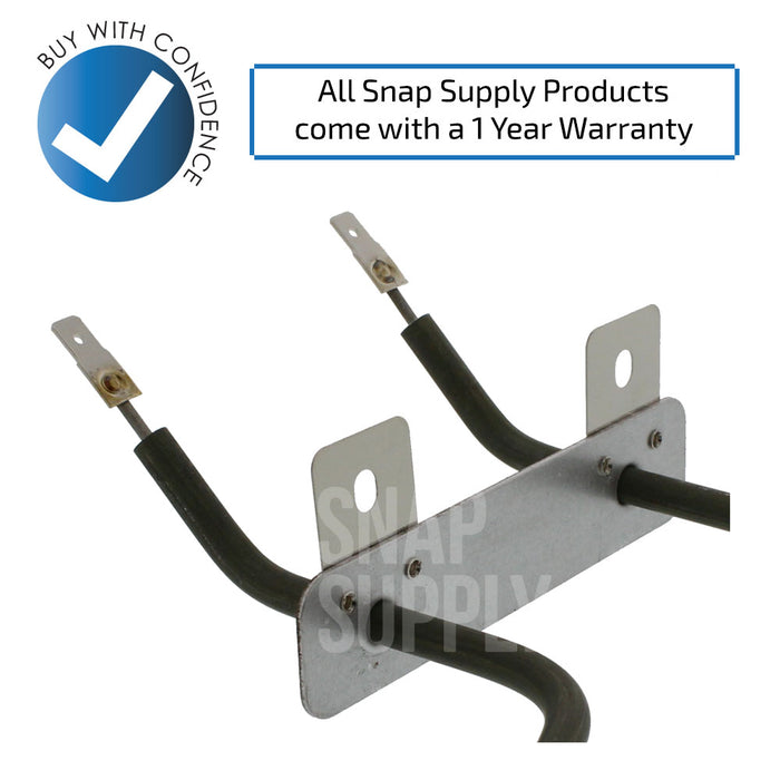 WB44K10005 & WB44T10009 Bake & Broil Element Kit for GE - Snap Supply -Element [Product_Sku]