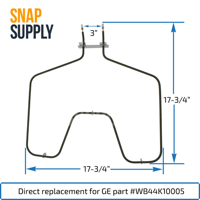 WB44K10005 Elemento de horneado para GE - Snap Supply -Element [Product_Sku]