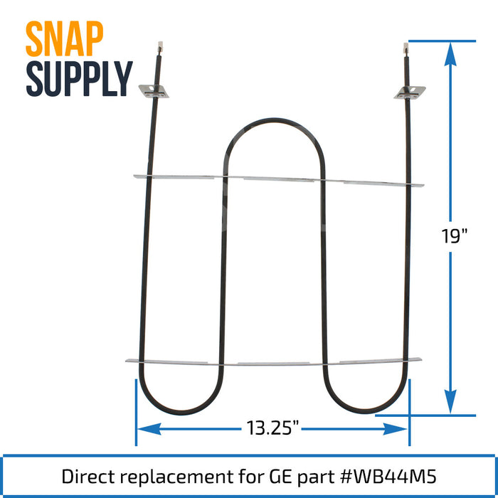 WB44M5 Broil Element for GE - Snap Supply -Element [Product_Sku]