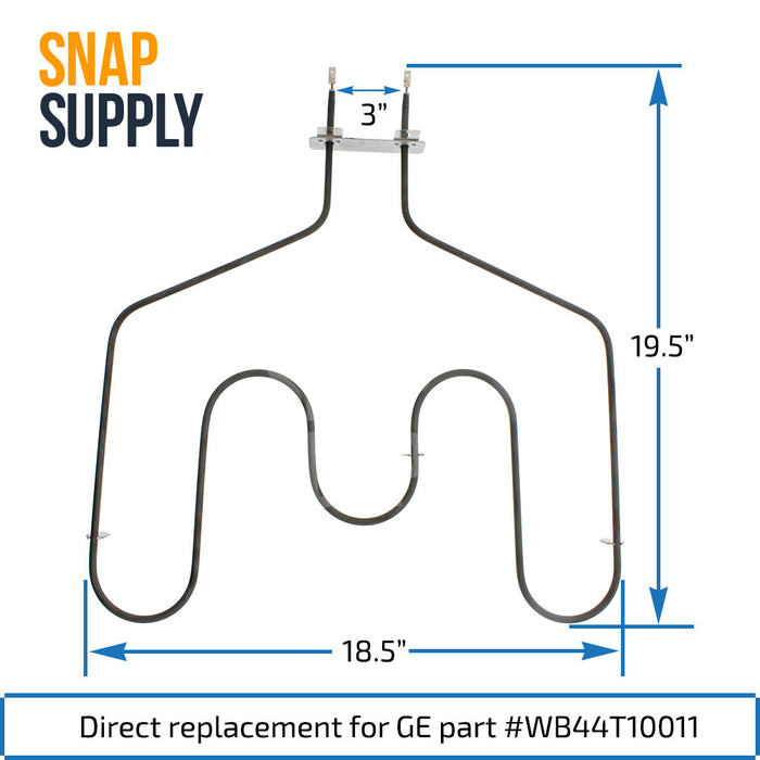 WB44T10011 y WB44T10009 Kit de elementos de horneado y asado para GE - Snap Supply -Element [Product_Sku]