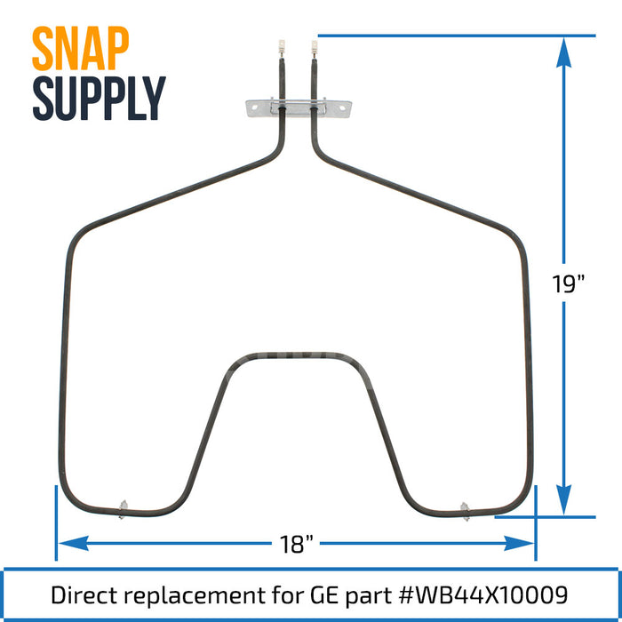 WB44X10009 Bake Element for GE - Snap Supply -Element [Product_Sku]