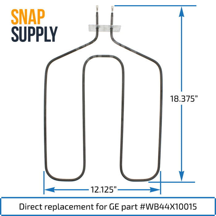 WB44X10015 Broil Element for GE - Snap Supply -Element [Product_Sku]