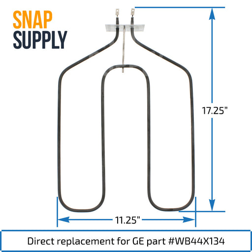 WB44X134 Broil Element for GE - Snap Supply -Element [Product_Sku]