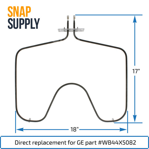 WB44X5082 Bake Element for GE - Snap Supply -Element [Product_Sku]
