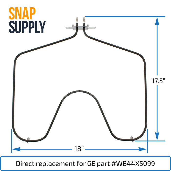 WB44X5099 Bake Element for GE - Snap Supply -Element [Product_Sku]