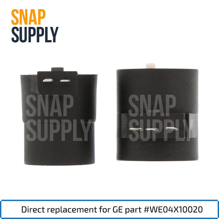 WE04X10020 Dryer Gas Valve Coil Kit for GE - Snap Supply -Dryer Parts and Accessory [Product_Sku]