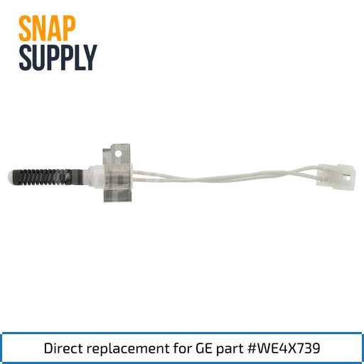 WE4X739 Dryer Igniter for GE - Snap Supply -Dryer Parts and Accessory [Product_Sku]