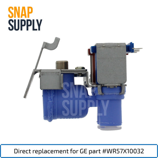 WR57X10032 Water Valve for GE - Snap Supply -Refrigerator Parts and Accessory [Product_Sku]