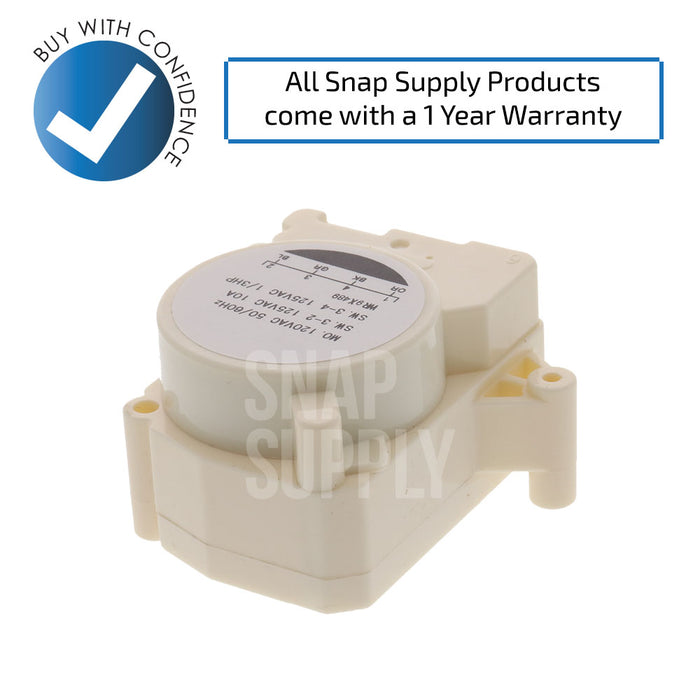 WR9X489 Refrigerator Defrost Timer for GE - Snap Supply - [Product_Sku]