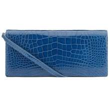Siena Pacific Blue Alligator clutch