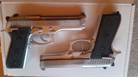 Mil Surp Taurus 917 chrome/stainless /alum 9mm