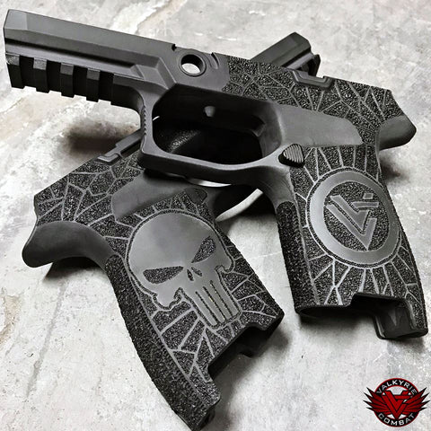 Valkyrie Combat Custom - SIG P320 Lower - Punisher Limited Edition