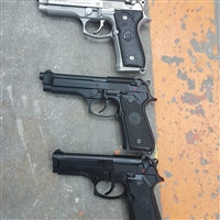 Mil Surp Beretta 92FS stainless