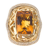 Safari Colore Citrine Ring