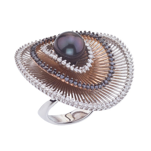 Sistina Large Pearla Ring
