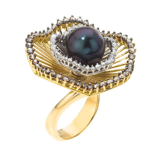 Sistina Small Flower Ring