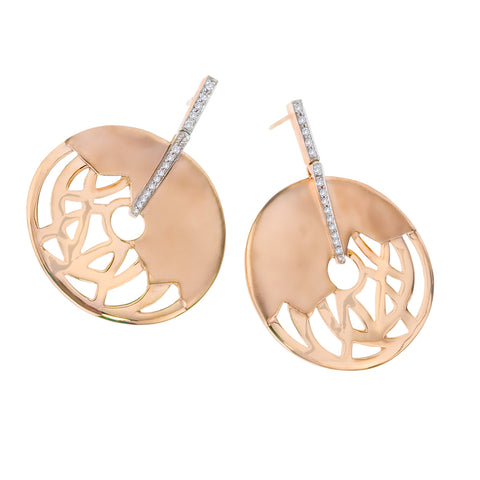 Safari Disc Earrings