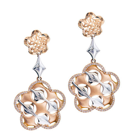 Cestino Flower Earrings