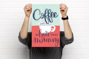 Coffee my lover print