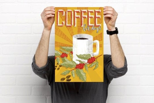 Coffee for days print