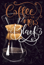 Coffee is the new black print