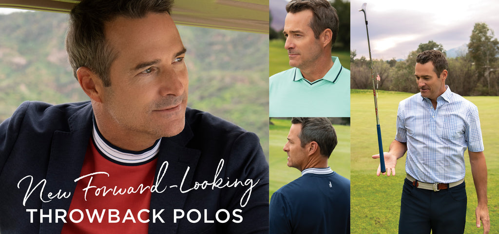The Vault: Forward-Looking Throwback Polos