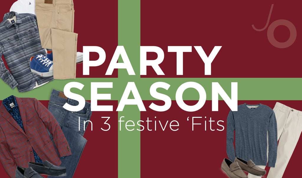 Party Primed in 3 Festive 'Fits