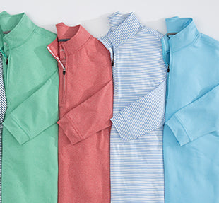 NEW: PREP-FORMANCE PULLOVERS