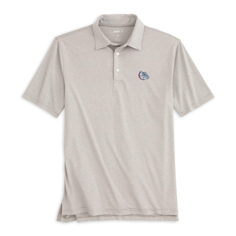 Gonzaga University Lyndon Striped PREP-FORMANCE  Polo