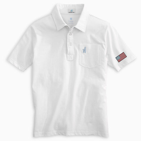 Stars & Stripes Jr. Original 4-Button Polo