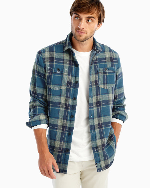 Spivey Sherpa Lined Shirt Jacket