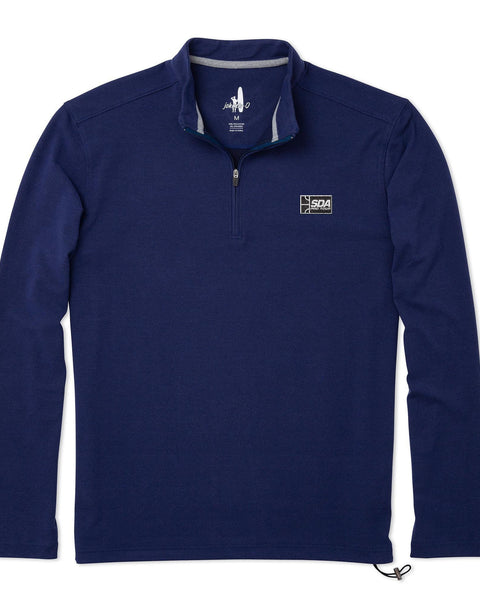 Squash Doubles Association Brady Fleece 1/4 Zip Pullover