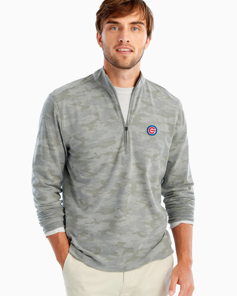 Cubs Rodney Printed Microfleece 1/4 Zip Pullover