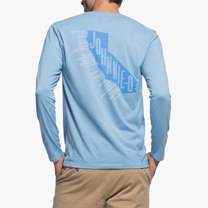 Cali Surf Coast Long Sleeve T-shirt