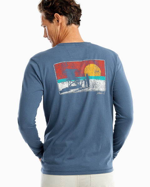 Lifeguard Stand Long Sleeve T-Shirt