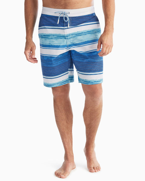 Suitable for Surfing One Cat Short of Crazy Mens Swimming Pants Swimming and Other Marine Sports Beach Shorts