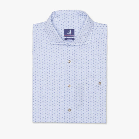 Bassett Printed Long Sleeve Shirt