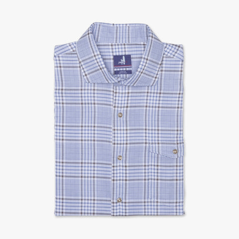 Kent Double-Faced Plaid Long Sleeve Shirt