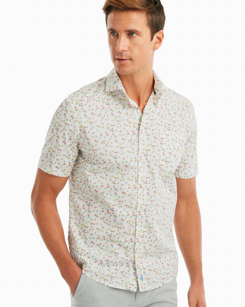 Stampede Printed Hangin' Out Short Sleeve Shirt