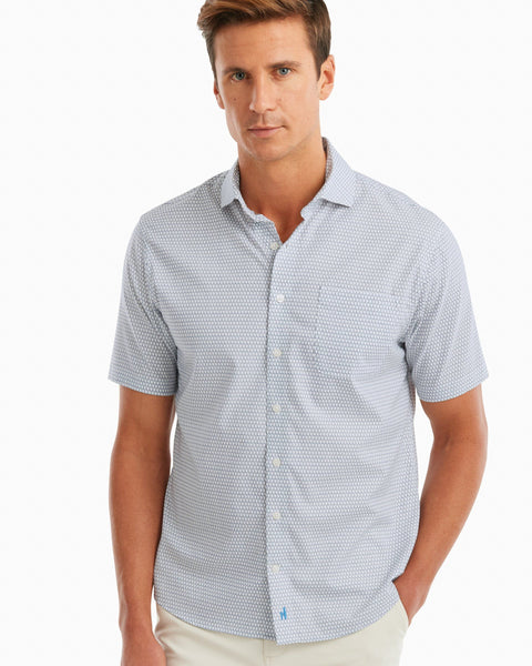 Luther PREP-FORMANCE Cut Away Collar Short Sleeve Shirt