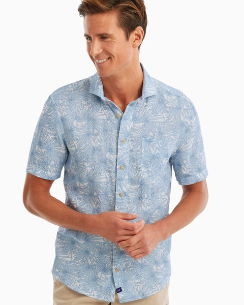 Hemlock Printed Hangin' Out Short Sleeve Shirt