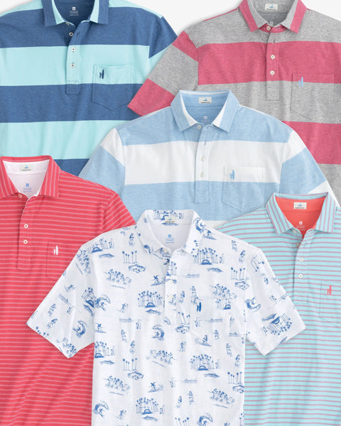 Hangin' Out Polo 3-Pack Bundle